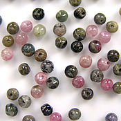 Материалы для творчества handmade. Livemaster - original item Tourmaline beads 2,5 - 3 mm. Handmade.