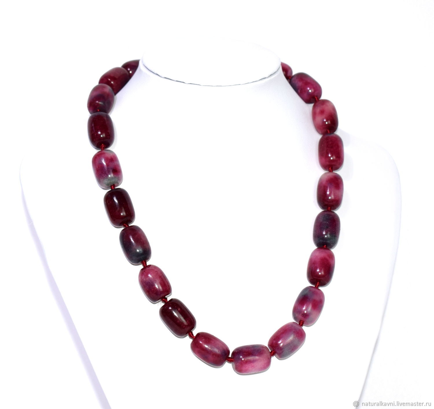 08ae970b85 Choker/necklace of natural tourmaline – shop online on Livemaster ...
