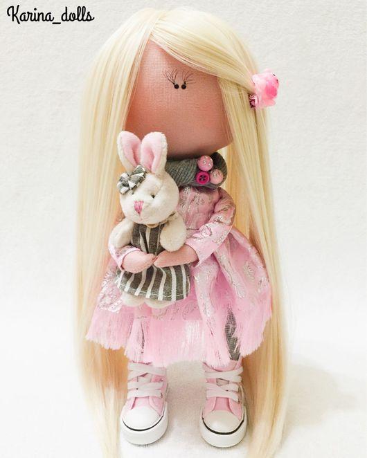 Коллекционные куклы ручной работы. Ярмарка Мастеров - ручная работа. Купить Интерьерная кукла. Handmade. Интерьерная кукла, бусы