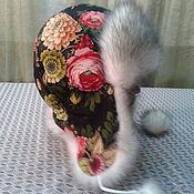 Аксессуары ручной работы. Ярмарка Мастеров - ручная работа ручная работа, шапка-ушанка. Handmade.