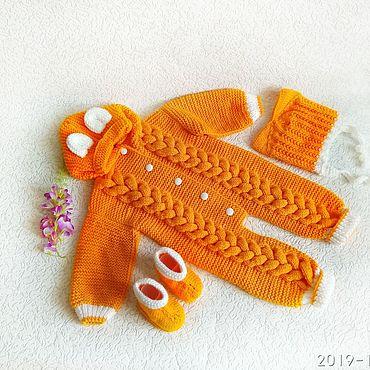 Товары для малышей ручной работы. Ярмарка Мастеров - ручная работа Комбинезоны: для самых маленьких. Handmade.