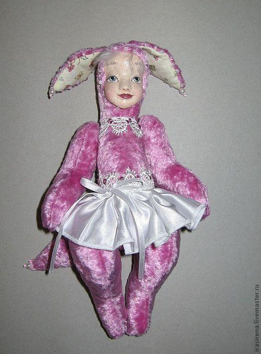 """Мишки Тедди ручной работы. Ярмарка Мастеров - ручная работа. Купить Лисичка """"Бутончик"""" Тедди долл. Handmade. Бледно-розовый"""