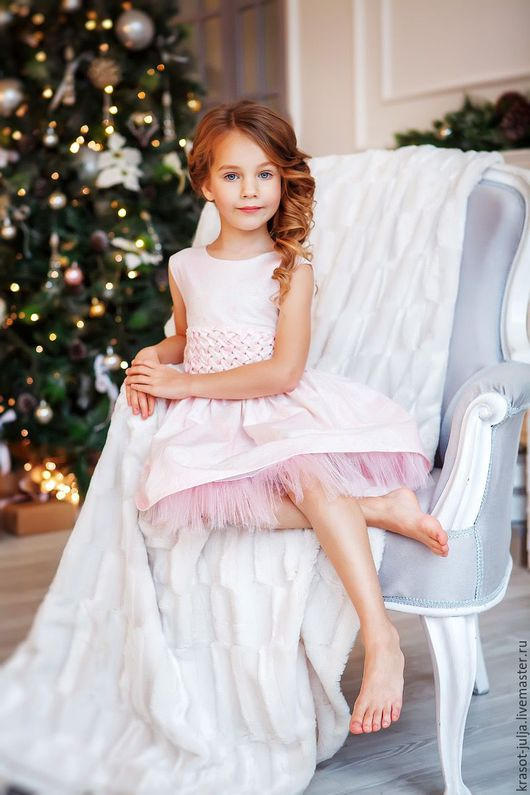 Одежда для девочек, ручной работы. Ярмарка Мастеров - ручная работа. Купить Сахарная вата. Нарядное платье для девочки.. Handmade.