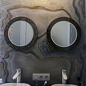 Для дома и интерьера handmade. Livemaster - original item Mirrors in a mosaic frame, bronze color.. Handmade.