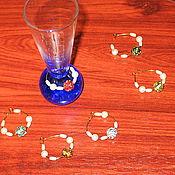 Посуда ручной работы. Ярмарка Мастеров - ручная работа Брелки для бокалов/Wine charms. Handmade.