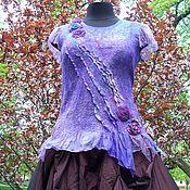 Одежда handmade. Livemaster - original item Tunic nanovolokna Magic color. Handmade.