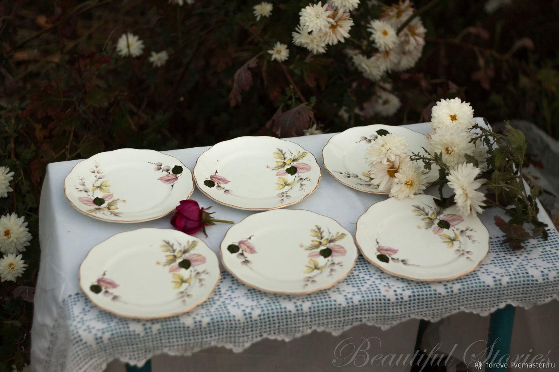 Set of Queen Anne dessert plates, Kitchen sets, Belorechensk,  Фото №1