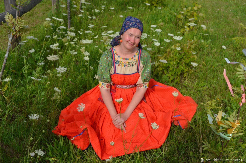 'Darena ' traditional round sundress, Costumes3, Bryansk,  Фото №1