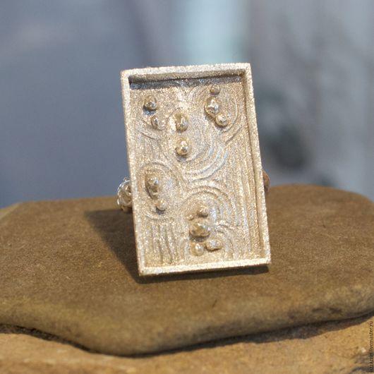 Rings handmade. Livemaster - handmade. Buy Ryoan-ji rock garden ring.Ring, frosted