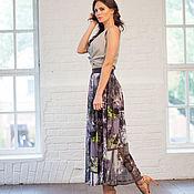 Одежда ручной работы. Ярмарка Мастеров - ручная работа Стильная длинная юбка. Handmade.