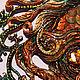 Элементы интерьера ручной работы. Золотая рыбка с цветком папоротника в солнечном круге. Юлия Ренессанс (Renaissance). Ярмарка Мастеров. Деньги