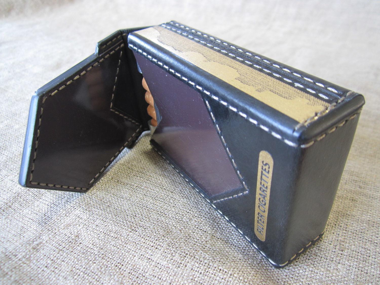 Cigarette case  sigaretta  Marlboro-Black  Personalized gift – купить на  Ярмарке Мастеров – JDPIECOM | Футляры, Nizhnij Tagil
