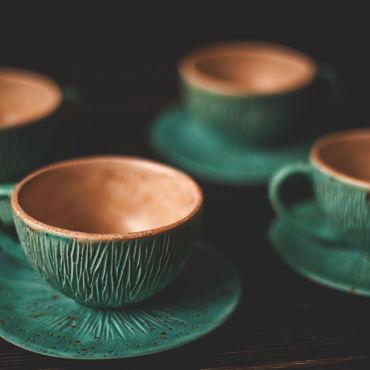 Посуда ручной работы. Ярмарка Мастеров - ручная работа Про чаепитие лесных фей. Handmade.