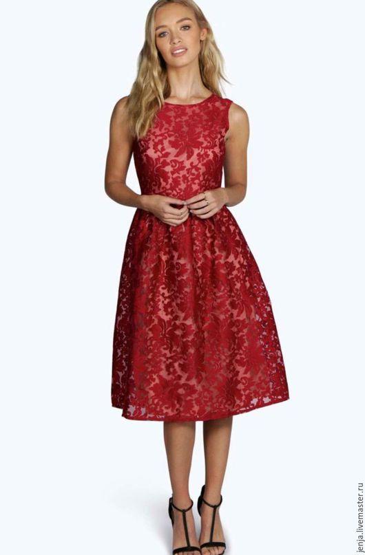 Платья ручной работы. Ярмарка Мастеров - ручная работа. Купить Seductive and romantic dress. Handmade. Цветочный, вечернее платье