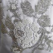 """Одежда ручной работы. Ярмарка Мастеров - ручная работа Блуза женская """"Белые розы"""", вышиванка. Handmade."""