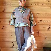 """Одежда ручной работы. Ярмарка Мастеров - ручная работа Продолжение костюма """" Зимняя вишня"""". Handmade."""
