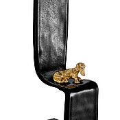 """Для дома и интерьера ручной работы. Ярмарка Мастеров - ручная работа Мини скульптура из стекла и серебра  """"Моя красавица"""". Handmade."""