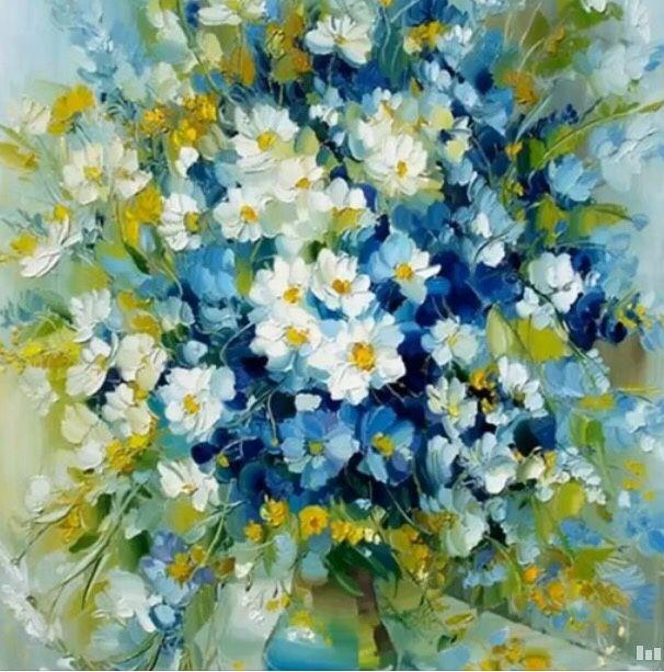 Полевые цветы, Картины цветов, Москва, Фото №1