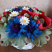 Цветы и флористика handmade. Livemaster - original item Sweet gift Summer day. Handmade.