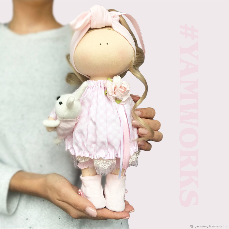 "Куколка ""Cute Pink"", Куклы Тильда, Уфа,  Фото №1"