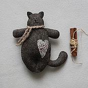Куклы и игрушки ручной работы. Ярмарка Мастеров - ручная работа Кот или зайчик. Handmade.