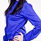 Блуза `Синяя батист`  11145