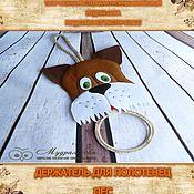 Материалы для творчества handmade. Livemaster - original item A master class in PDF towel Holder. Handmade.