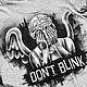 """Футболки, майки ручной работы. Ярмарка Мастеров - ручная работа. Купить Футболка с ручной росписью """"Don't blink """". Handmade."""