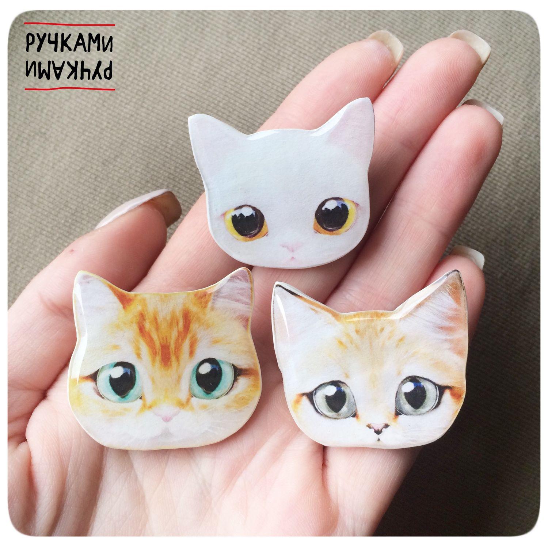 кошки из полимерной глины фото