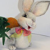 Куклы и игрушки ручной работы. Ярмарка Мастеров - ручная работа Заинька Марта. Handmade.