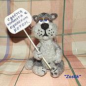 Куклы и игрушки ручной работы. Ярмарка Мастеров - ручная работа Одинокий кот. Handmade.