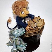 Куклы и игрушки ручной работы. Ярмарка Мастеров - ручная работа Коллекционная кукла Чертенок №13. Handmade.