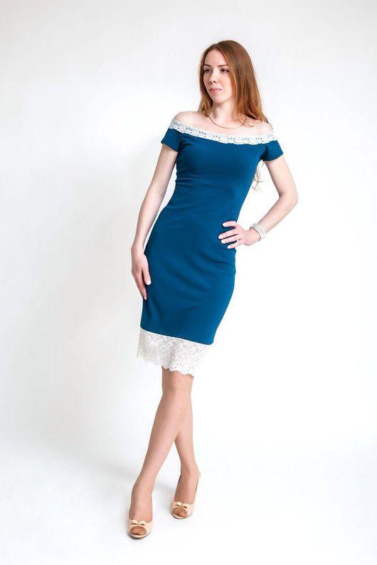 Платья ручной работы. Ярмарка Мастеров - ручная работа. Купить Элегантное платье. Подойдет как для работы так и для праздника.. Handmade. Комбинированный