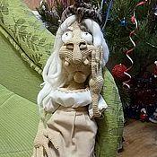 """Куклы и игрушки ручной работы. Ярмарка Мастеров - ручная работа Вязаная игрушка """"Баба Яга"""". Handmade."""
