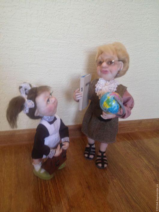 Коллекционные куклы ручной работы. Ярмарка Мастеров - ручная работа. Купить школьные годы ( цена снижена ). Handmade.