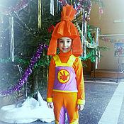 Работы для детей, ручной работы. Ярмарка Мастеров - ручная работа Детский костюм Фиксика Симки. Handmade.