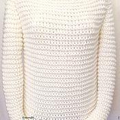 """Одежда ручной работы. Ярмарка Мастеров - ручная работа Свитер женский вязаный. """"Дилия"""". Handmade."""