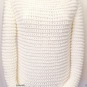 Одежда handmade. Livemaster - original item Sweater women knitted.