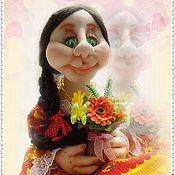 Куклы и игрушки ручной работы. Ярмарка Мастеров - ручная работа Настюша. Кукла - пакетница.. Handmade.