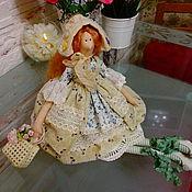 Куклы и игрушки ручной работы. Ярмарка Мастеров - ручная работа Интерьерная куколка в стиле Тильда. Винтажная.. Handmade.