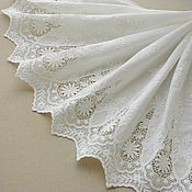 Материалы для творчества handmade. Livemaster - original item Very beautiful lace embroidery 100% cotton, Marquise. Handmade.