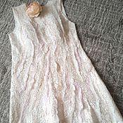 """Одежда ручной работы. Ярмарка Мастеров - ручная работа Валяное платье """"ICE CREAM"""". Handmade."""