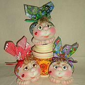 Куклы и игрушки ручной работы. Ярмарка Мастеров - ручная работа Мешочки СЧАСТЬЯ(маленькие). Handmade.