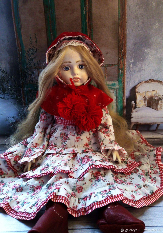 Текстильная Брю, Шарнирная кукла, Дубна,  Фото №1