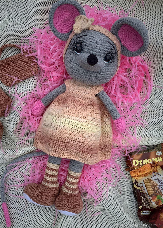 Knitted toys-mouse, Stuffed Toys, Bondari,  Фото №1