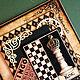 Открытки для мужчин, ручной работы. Открытка для мужчины  Шахматы. Анна Букал (bukalanna). Интернет-магазин Ярмарка Мастеров. Мужская открытка