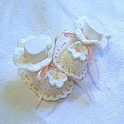 Работы для детей, handmade. Livemaster - original item Booties Beads. Handmade.