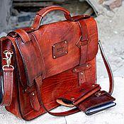 Сумки и аксессуары handmade. Livemaster - original item The briefcase. Handmade.