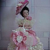 Для дома и интерьера ручной работы. Ярмарка Мастеров - ручная работа Очаровательная кукла-шкатулка. Handmade.