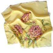 Аксессуары handmade. Livemaster - original item batik handkerchiefs floral. Handmade.